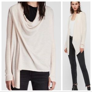 ALL SAINTS 6 Drina Cardigan Sweater